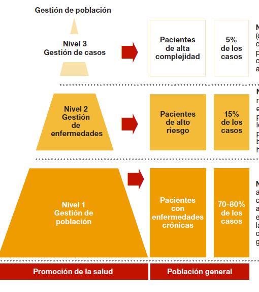 La pirámide de Kaiser nos pone para privatizar mucho. Aqui, la del informe de PwC