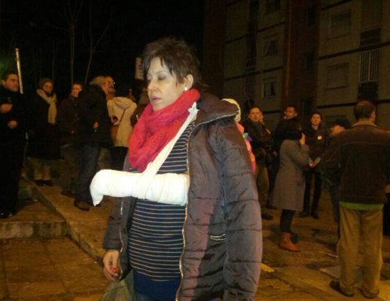 """Esto es una """"lesión leve"""", según la Subdelegación del Gobierno en Valladolid."""