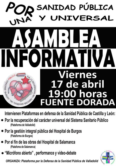 "ASAMBLEA INFORMATIVA ABIERTA, PERFORMANCE, PROYECCIÃ""N"